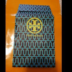 Tory Burch Tall Triangle Blue GIFT BAG
